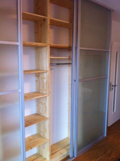 Holz- und Glas-Schiebetüren nach Maß   Raumteiler ...